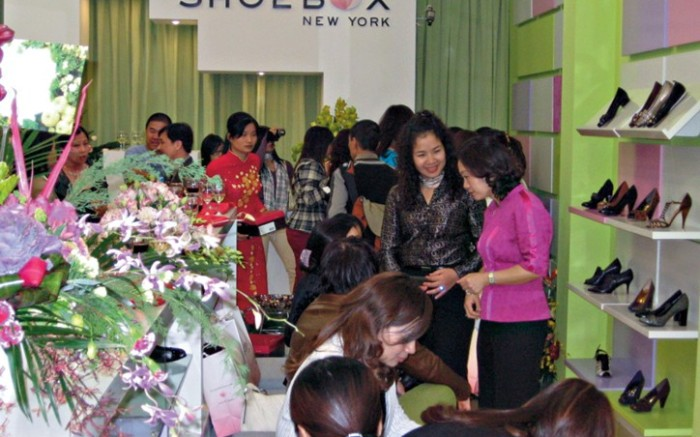 Late last month Shoebox New York debuted its first international location in Hanoi Vietnam
