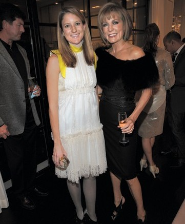 Buyer Ruth Caldwell with client Liz Hilliard at a party celebrating the new store location