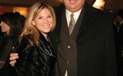 Tiffany Johnson with Soles4Soles founder and CEO Wayne Elsey