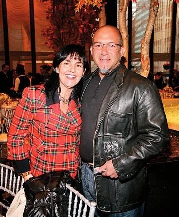 Angel Martinez and Connie Rishwain