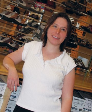 Amy Ravinett manager of retail services and co-buyer for Ameribag Adventures