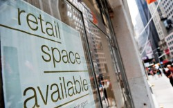 Retal space is also becoming less expensive for many firms