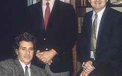 Weaver with Vince Camuto and Jerome Fisher during Nine West&#8217s heyday