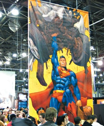Footwear News hit the New York Comic Con