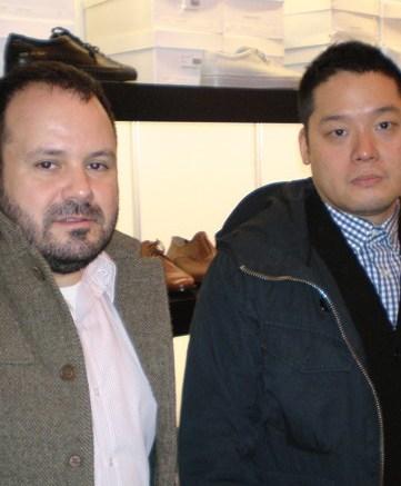 Paul Birardi and Eddy Chai
