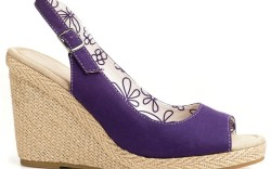 A peep-toe wedge style from Zoe and Zac