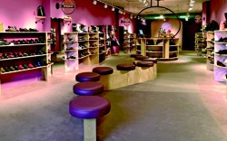 Contemporary interior design gives comfort a modern edge John Holden at Benjamin Lovell Shoes