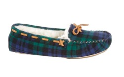 Patricia Green&#8217s plaid moccasin