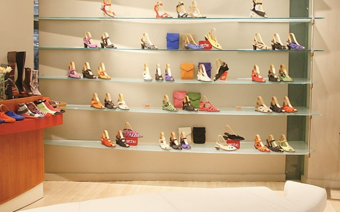 Arche&#8217s 57th Street store in New York
