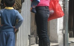 What they are wearing in Santiago Chilie