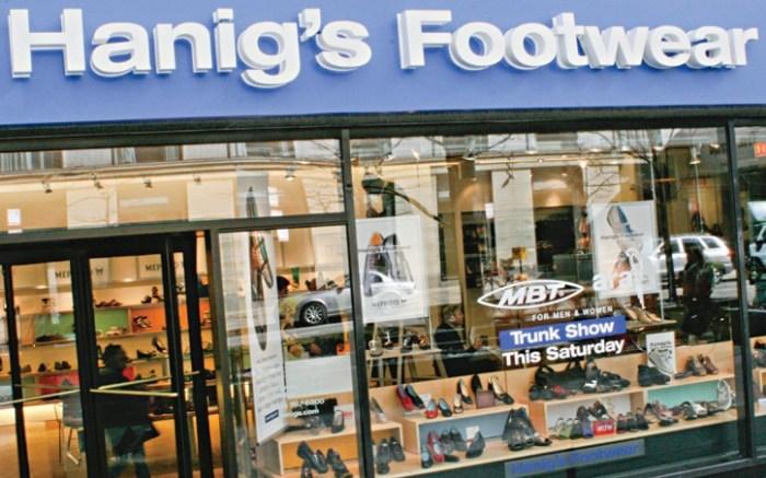 Hanigs Footwear in the John Hancock Center