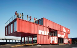 Puma&#8217s shipping-crate based nightclub Puma City
