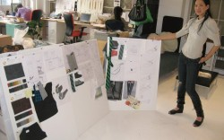Cece Chin in her studio