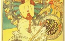 Cece Chin is inspired by artist Alphonse Mucha