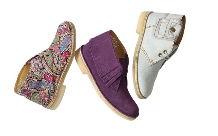 Clarks&#8217 Desert Boots limited-edition collection for fall