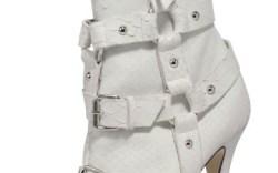 A peep-toe boot from Giuseppe Zanotti