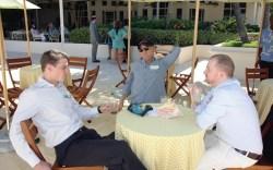 Jimmy Choo CEO Josh Schulman and fast-fashion king Steve Madden