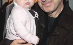John Varvatos with his daughter Thea