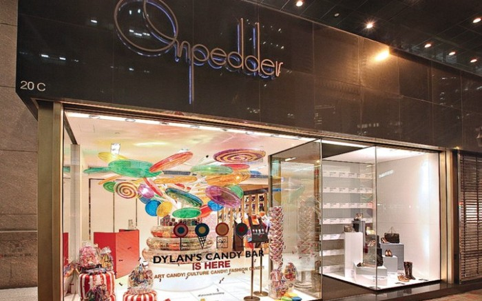 The Hong Kong-based shoe boutique On Pedder has welcomed New York transplant Dylan&#8217s Candy Bar into a popup space through May 13