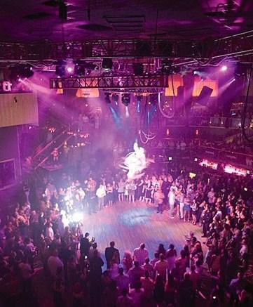 Holiday extravaganza at Rain nightclub in 2007