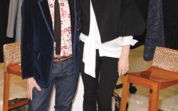 Stella McCartney and Simon Doonan