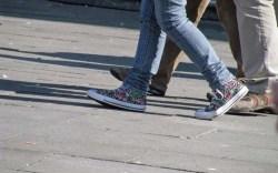 Kids sneakers in Venice Summer 2009
