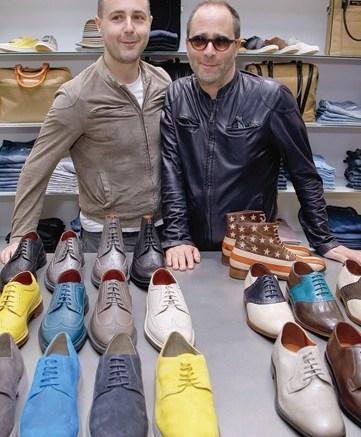Designers Steven Cox and Daniel Silver