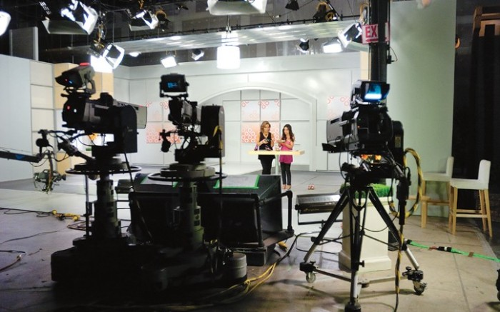 Two weeks ago on the set of QVC&#8217s &#8220PM Style&#8221 show Gretta Monahan demonstrated the new appeal of home shopping