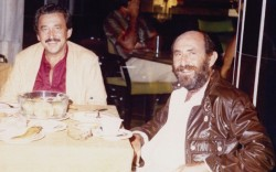 Mike Silverstein left with brother Stanley in the 1970s