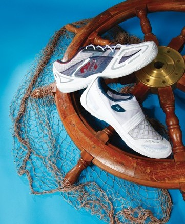 Here from top HELLY HANSEN&#8217s athletic style boat shoes for men and women