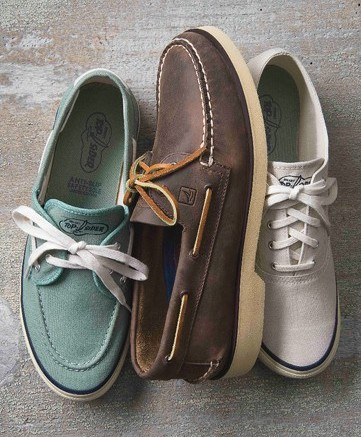 Anniversary-themed product from Sperry Top-Sider