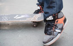 They are wearing East Village skate park
