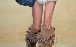 D&G&#8217s fringe and studded boots