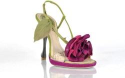 REN&#201 CAOVILLA&#8217s floral sandal