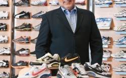 Glenn Lyon photographed for FN at the Finish Line headquarters in Indianapolis