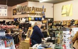 Inside Working Person&#8217s Store