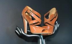 BALLY&#8217s patent stiletto sandals