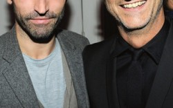 Nicholas Ghesqui&#232re left with Pierre Hardy