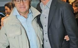 Diego Della Valle left with Bruno Frisoni