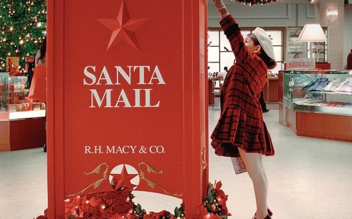To Santa from Macys