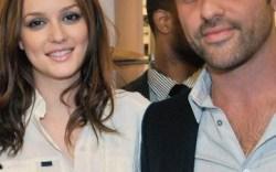 Alexandre Birman with Leighton Meester in September