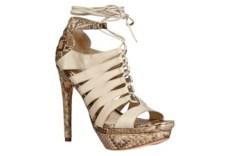 Spring &#821710 python sandals