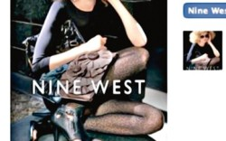 Nine West&#8217s fan page on Facebook