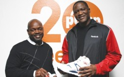reebok Emmitt Smith and Dominique Wilkins