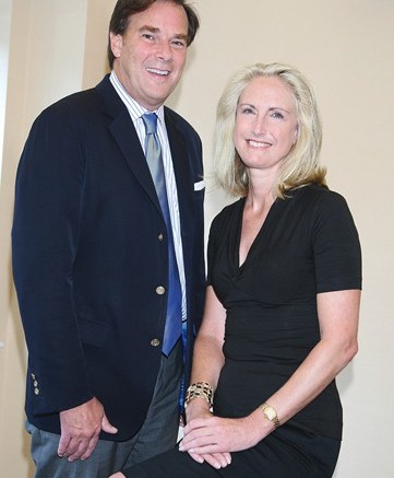 William Smith and Jack Rogers CEO Denise Johnston