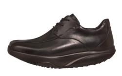 Black bicycle-front oxford from MBT