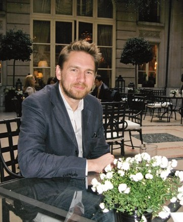 An afternoon in Paris with Londoner Rupert Sanderson