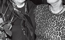 Vivian Infantino with Beth Levine