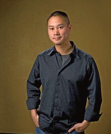 Tony Hsieh photographed for FN at the Zappos headquarters in Henderson Nev