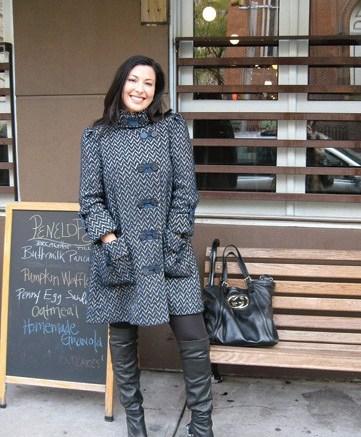 Foot Petals founder Tina Aldatz